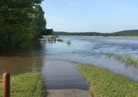 Flood at Sequoyah National Wildlife Refuge