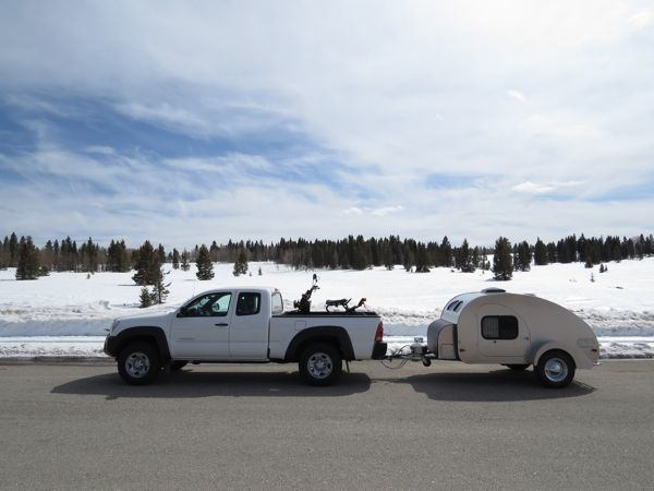 My Teardrop Camper - New Mexico