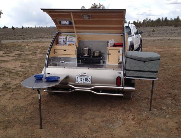 Teardrop Camper Kitchen