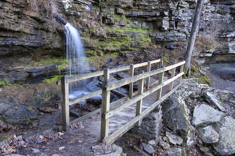 Twin Falls Devil's Den State Park Arkansas
